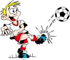 voetbaltraining opwarming