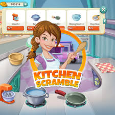 kitchen scramble Kitchen Scramble Facebook Oyun Hileleri