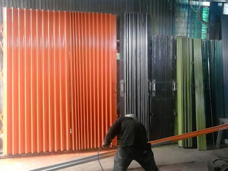 gambar produksi folding gate