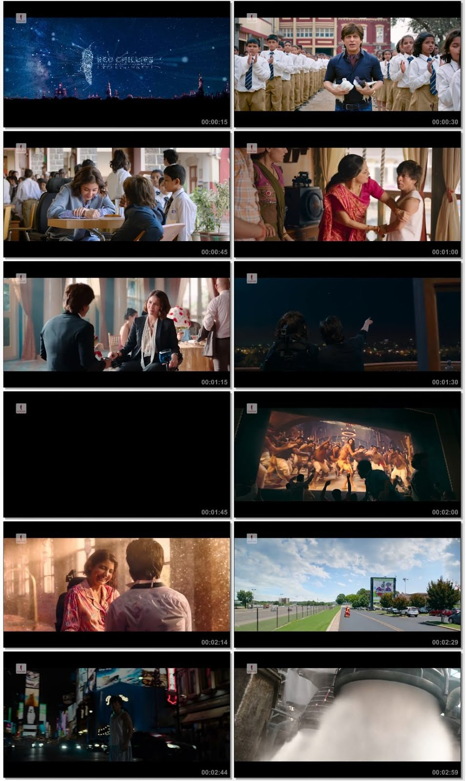 Screenshots Of Hindi Movie Zero 2018 Trailer official 480P HD