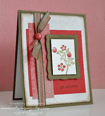 Handmade Get Well Greeting Card