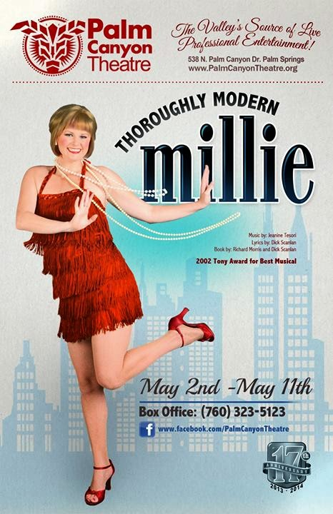Thoroughly Modern Millie May 2nd - May 11th 2014