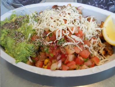 Mexican Veg Burrito Bowl