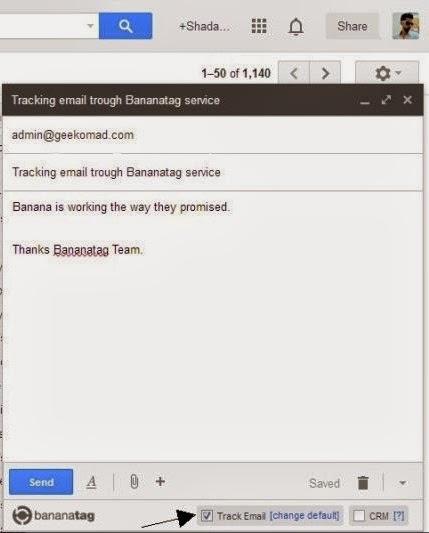 Bananatag Email Tracking Service free