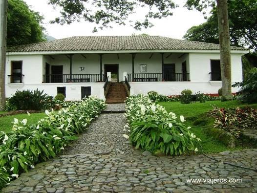 Casa de hacienda en Colombia