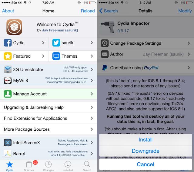 Thủ thuật xoá sạch Jailbreak không cần phải restore iPhone