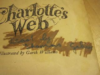 "Immature cursive writing: ""Read by Thomas Galin"""