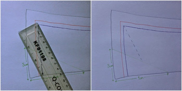 Diary of a Chain Stitcher: How To Add Collar Stay Slots to a Handmade Shirt
