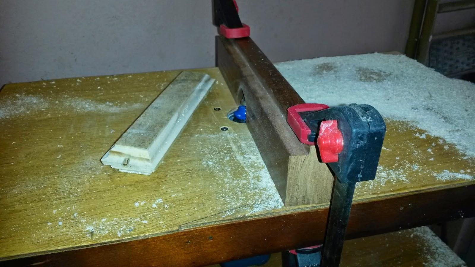 Oficina do Quintal: Como fazer uma bancada para tupia Parte II #633D14 1600x900