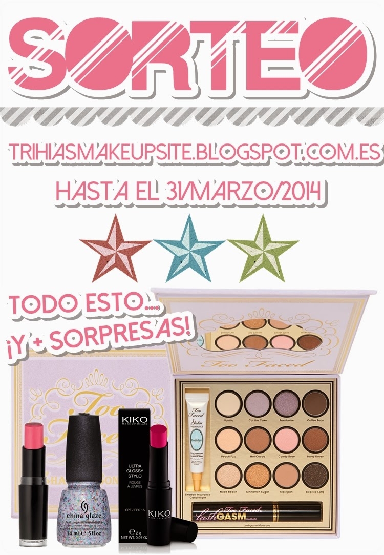 Sorteo Trihia's Make Up Site
