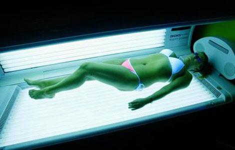 what is solarium tanning