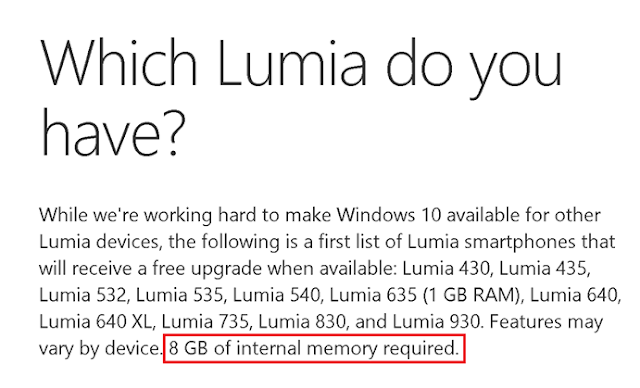 Which Lumia do you have