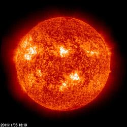 Obecnie słońce