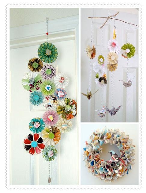 Diy decora o artesanato com papel paper crafts for Simple paper crafts for adults