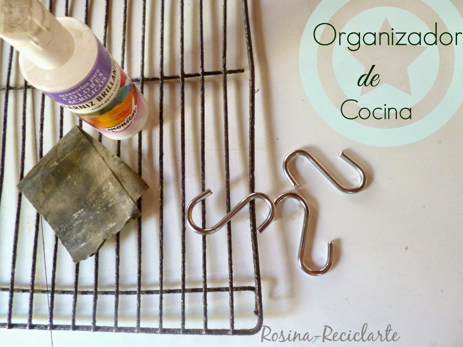 Reciclarte organizador express for Porta cucharas cocina