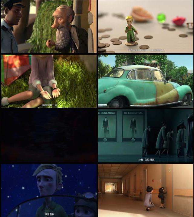 The Little Prince 2015 English HDRip 720p