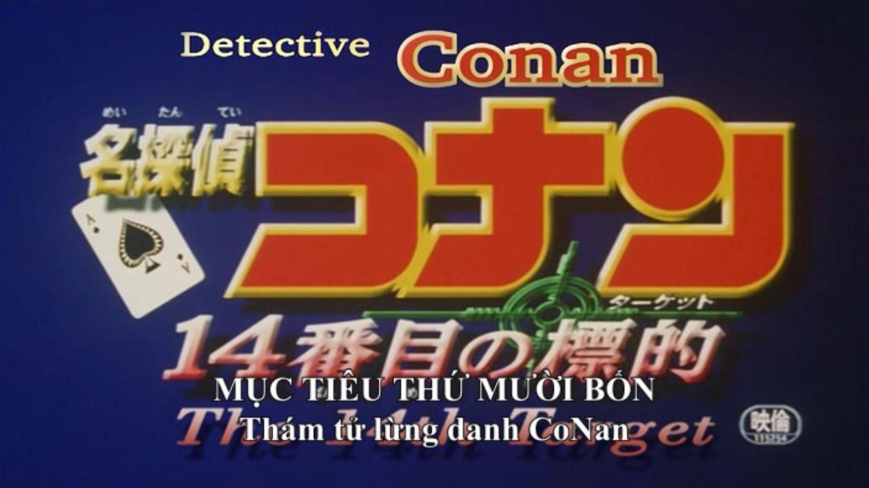 Thám Tử Conan: Mục Tiêu Thứ 14