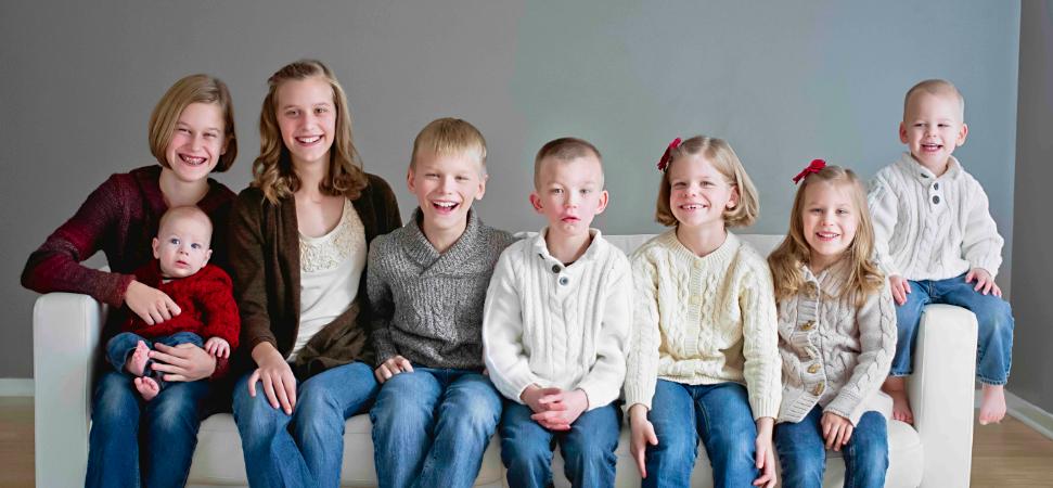8 kiddos