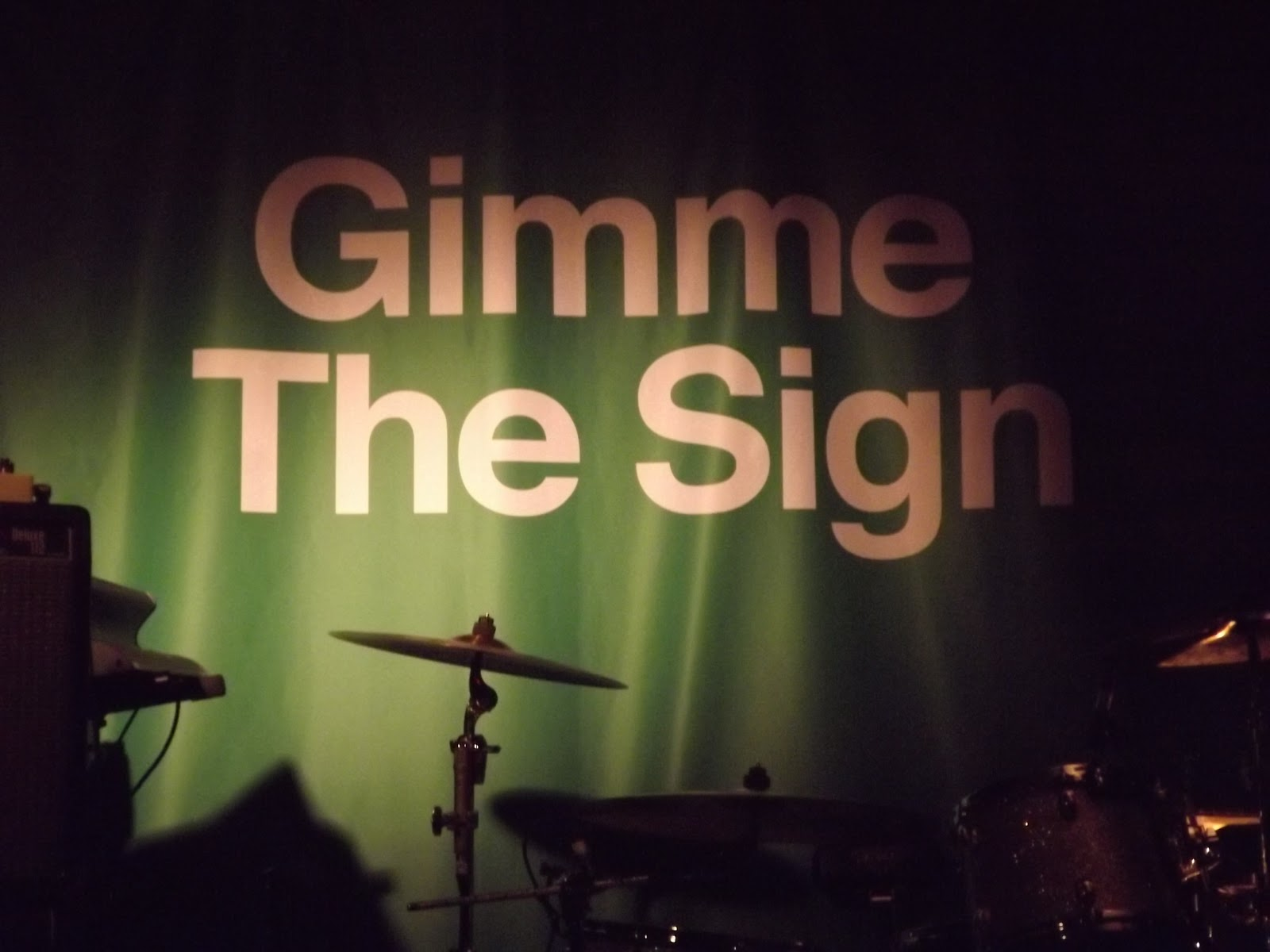 The Enemy - Gimme The Sign