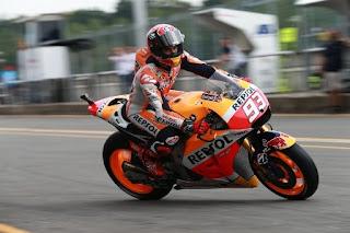 Hasil MotoGP Inggris: Marquez Tercepat di Latihan Bebas