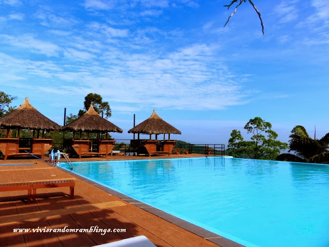 Sinagtala Farm Resort's Infinity Pool