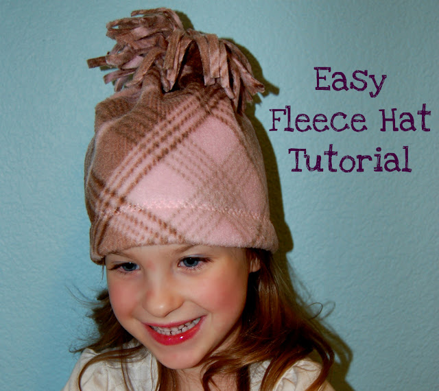 Fleece Hat Tutorial