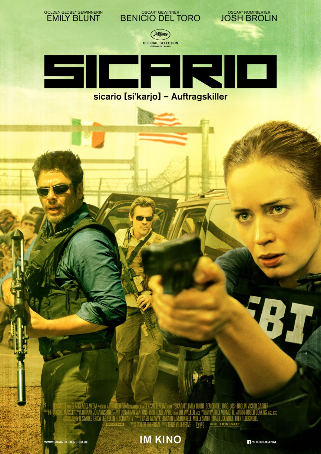 Tierra De Nadie: Sicario (2015) [BrRip 720p] [1 Link] [MEGA]