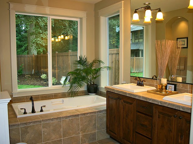 Bathroom remodels on a budget image