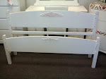 Vintage Full size bed complete with rails