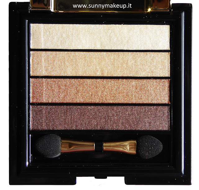 Pupa - Stay Gold!: Collezione natalizia 2015. Stay Gold! Eyeshadow Palette. 001 Classic Allure.
