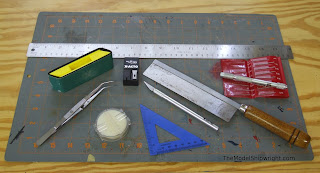 tools needed for model ship building
