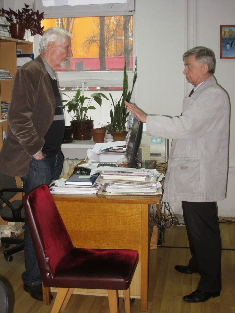 Владимир Бочкарев (слева) и Василий Сикачина