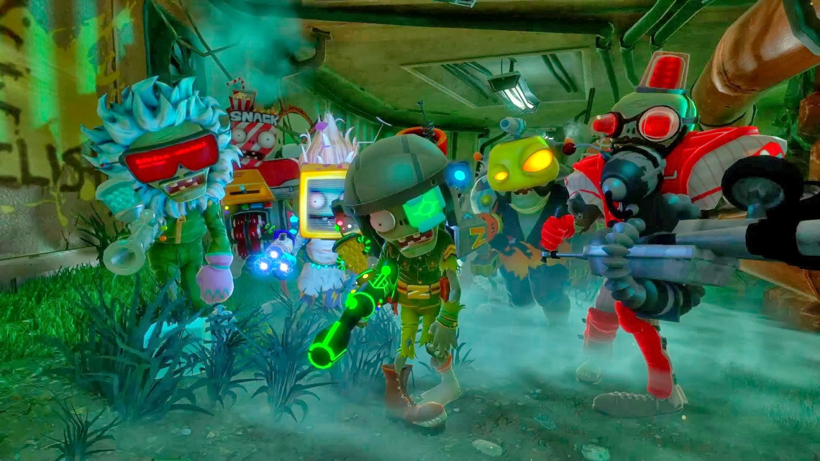 Plants Vs. Zombies Garden Warfare   Launch Trailer   Trailer Song / Music Images