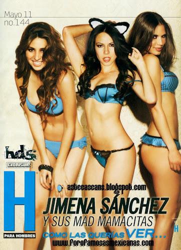 Fotos Jimena Sánchez Revista H para Hombres Mayo 2011