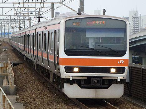 武蔵野線 快速 府中本町行き 209系(廃止)