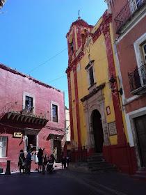 Urban sketching in Guanajuato
