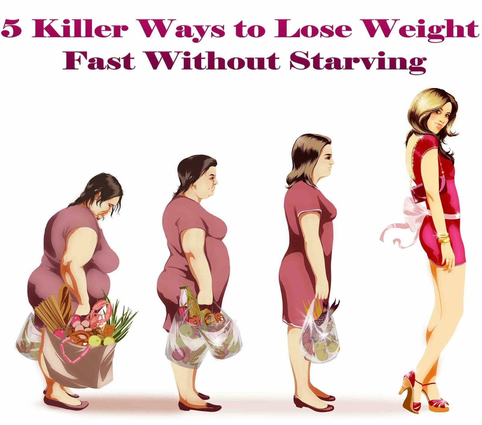 5 fast ways to lose weight overnight