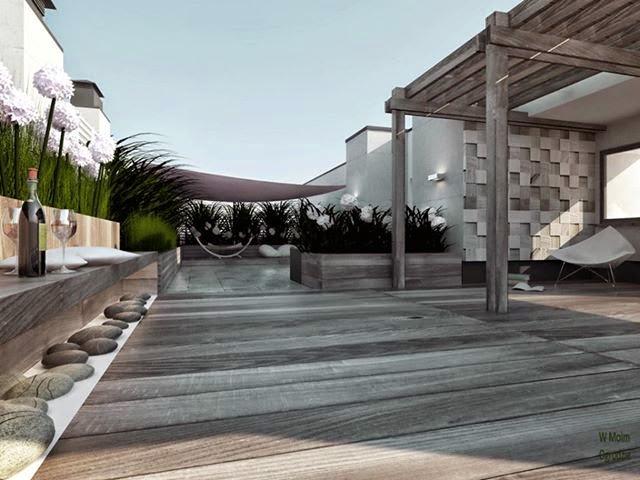 projektowanie ogrodow na dachach warszawa
