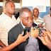 Mgombea nafasi ya uraisi wa shirikisho la soka nchini TFF Jamal Malinzi hii jana amezindua rasmi.