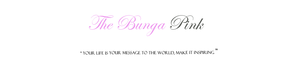 The bunga pink.