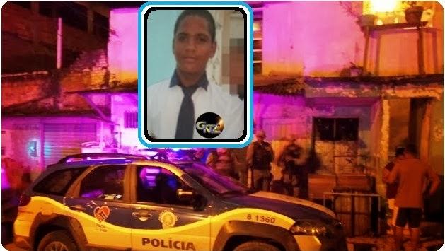 Adolescente assassinado a tiros em Itabuna