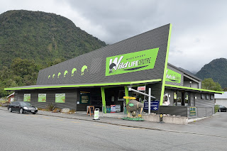 Kiwi center in Franz Josef, New Zealand