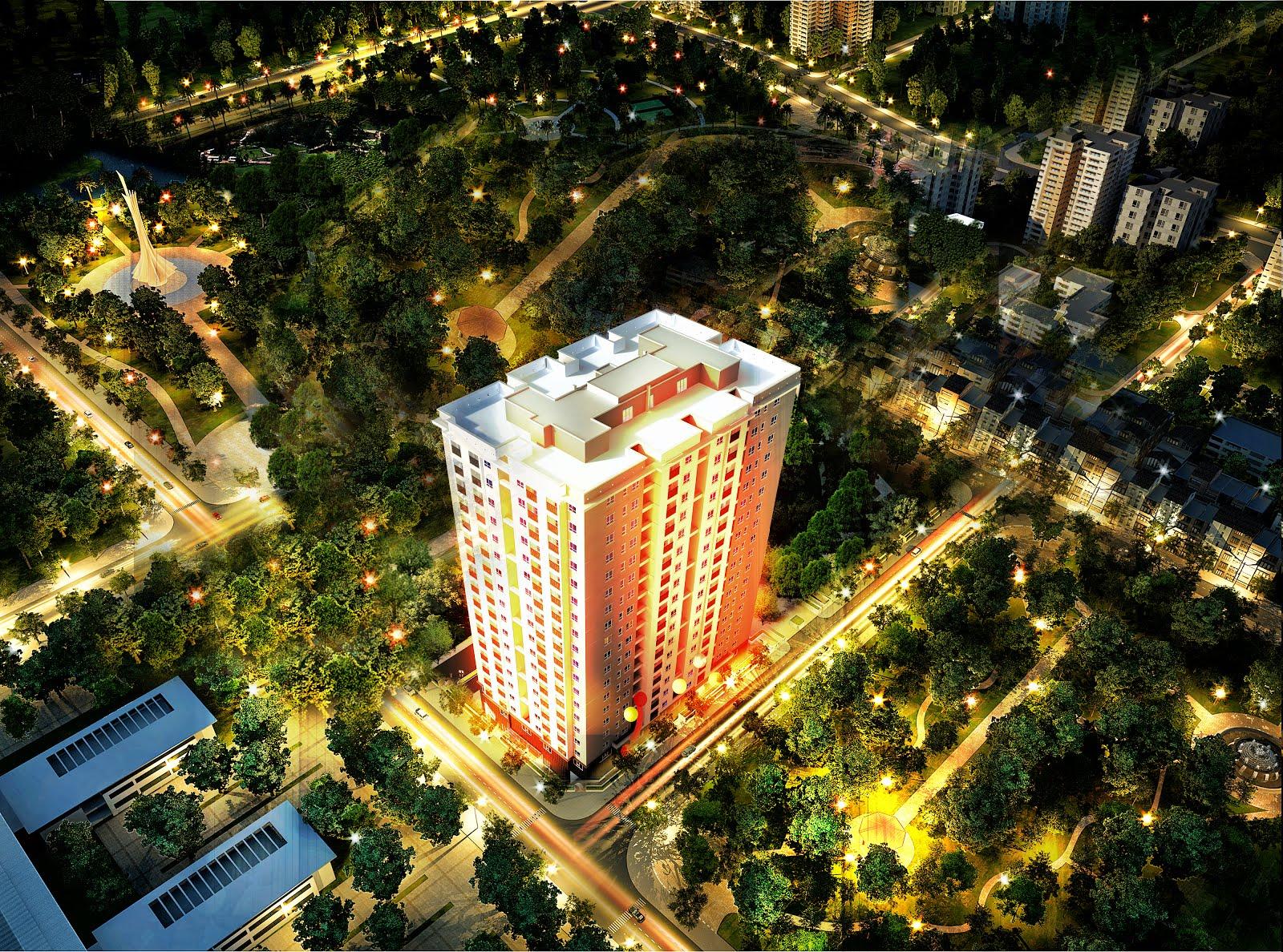 Chung cư center home - 129d trương định