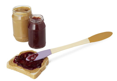 Double sided Peanut Butter and Jelly Spreader