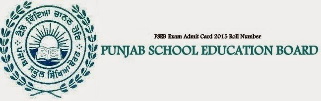 PSEB-12th-Senior-Secondary-Exam-Admit-Card-2015-Roll-Number