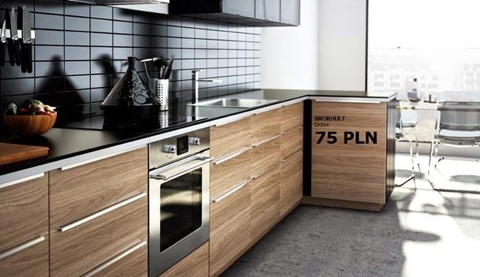 My tylko na chwilę  remont kuchni  LEVEL UP! studio -> Kuchnia Ikea Czas Oczekiwania