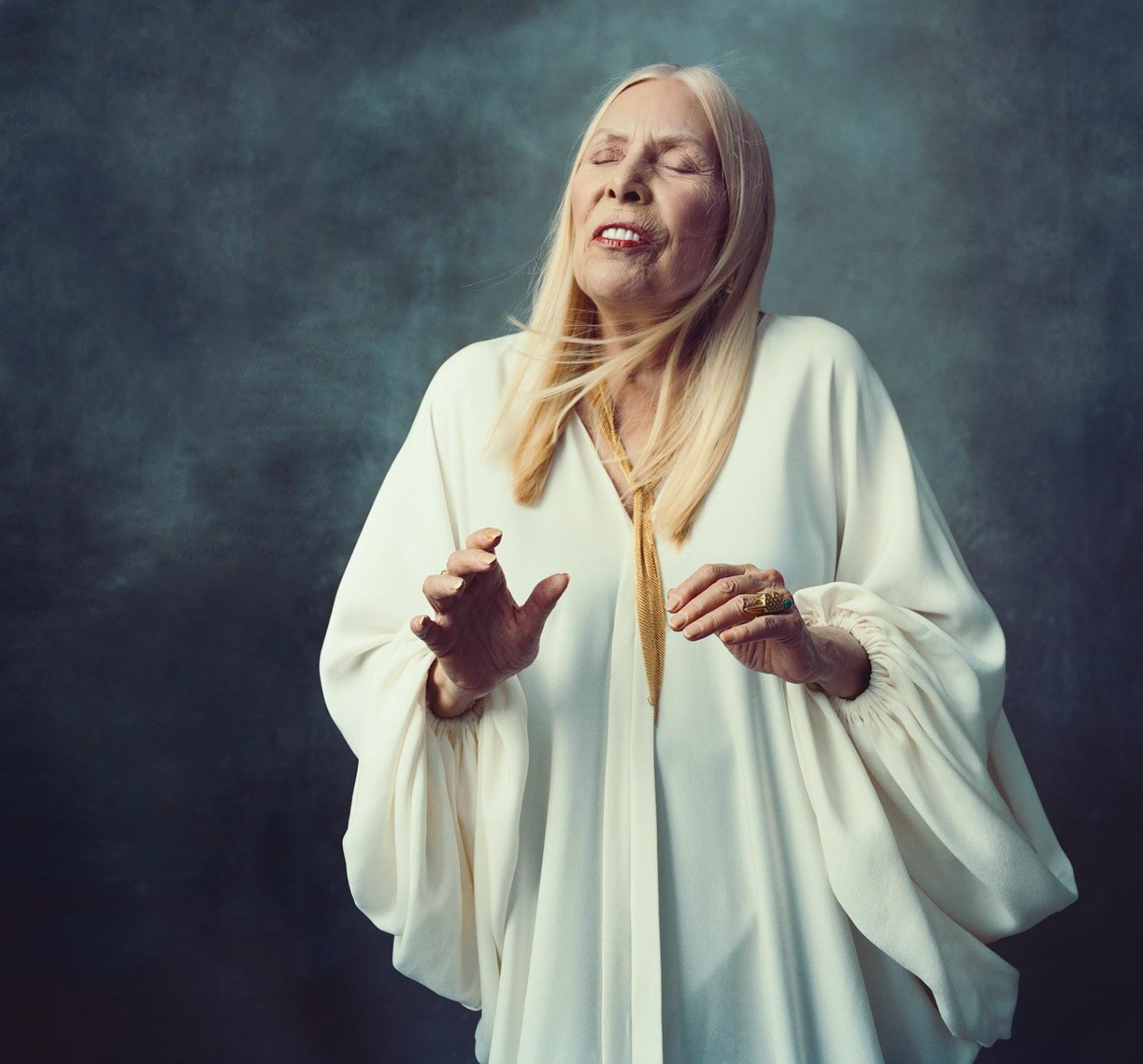 Joni Mitchell para New York Magazine