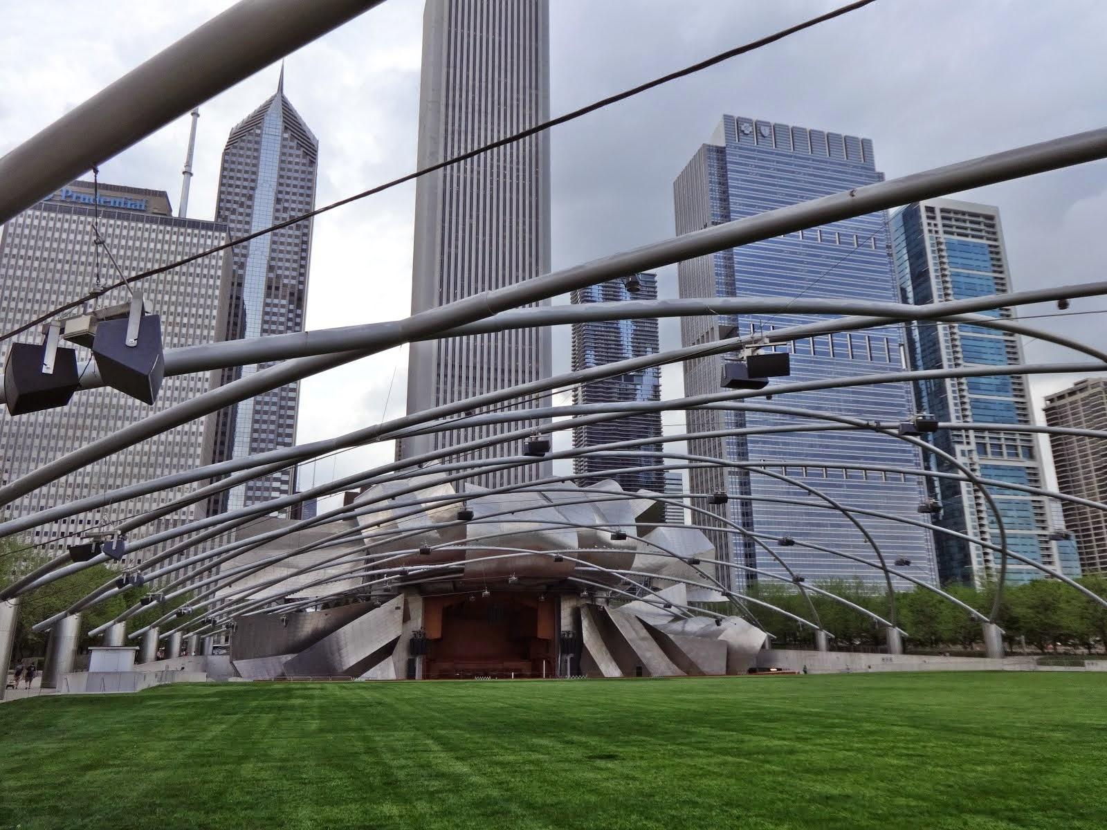 Jay Pritzler Pavillion, Millenium Park, Chicago