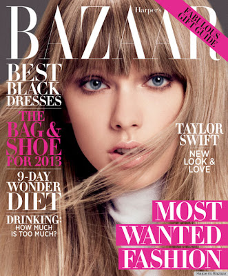 Taylor Swift for Harper's Bazaar US December/January 2012/2013