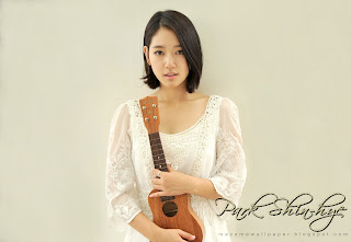 park shin hye cute by macemewallpaper.blogspot.com
